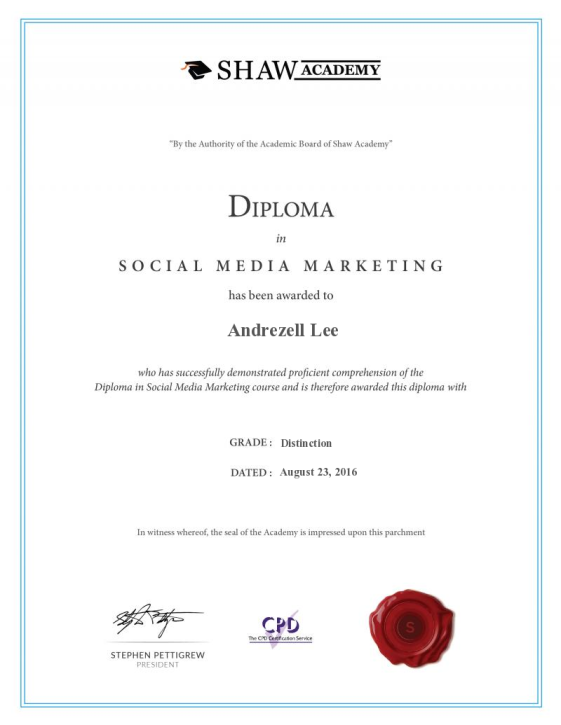 diploma_social media marketing